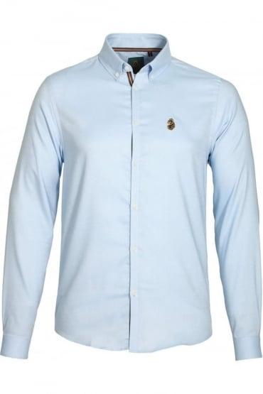 Cuffys Call Oxford Shirt Powder Blue