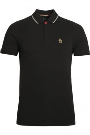 Meads Polo Shirt | Jet Black