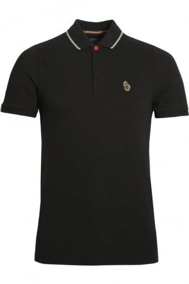 Meads Polo Shirt | Jet Black
