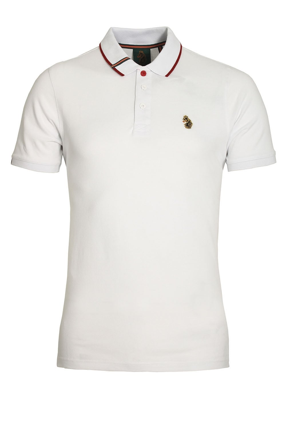 Luke sport meads polo shirt white shop luke sport polo for Luke donald polo shirts