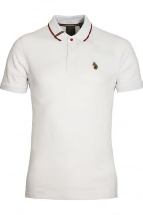 Meads Polo Shirt | White