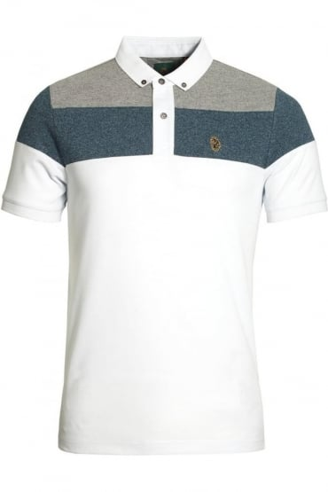 Mickey Spacers Polo Shirt Lux White