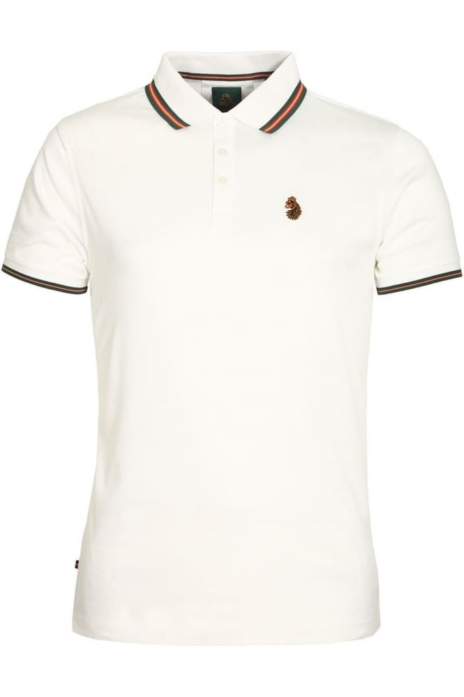 LUKE SPORT Minter Cotton Pique Polo Shirt