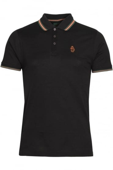 Minter Cotton Pique Polo Shirt