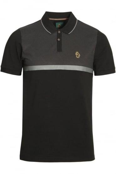 Modern Classik Polo Shirt | Jet Black Mix