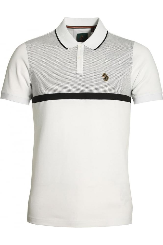 LUKE SPORT Modern Classik Polo Shirt | White Mix