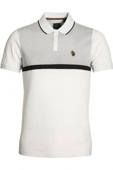 Modern Classik Polo Shirt | White Mix