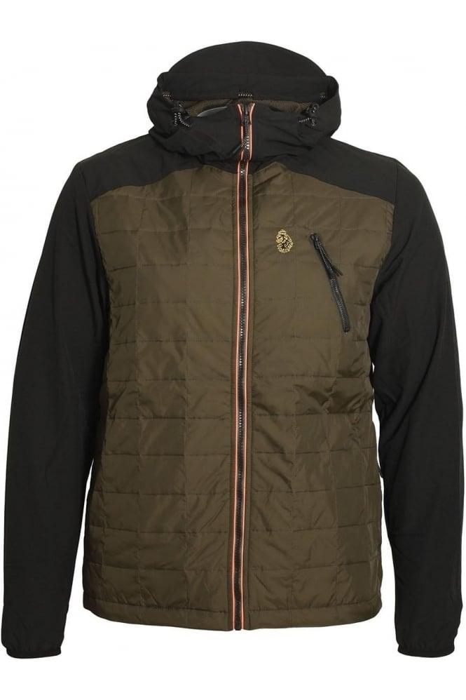 LUKE SPORT Randolph Packable Hooded Jacket | Jet Black
