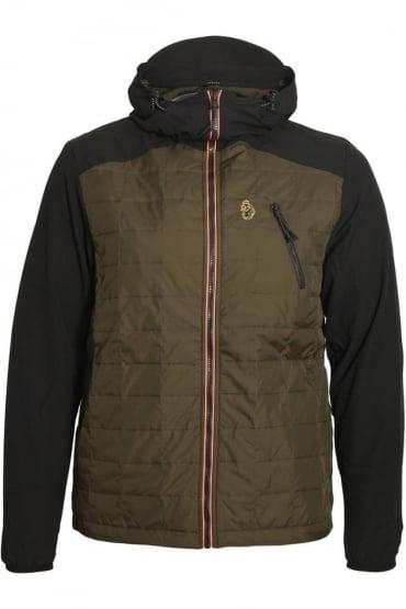Randolph Packable Hooded Jacket | Jet Black