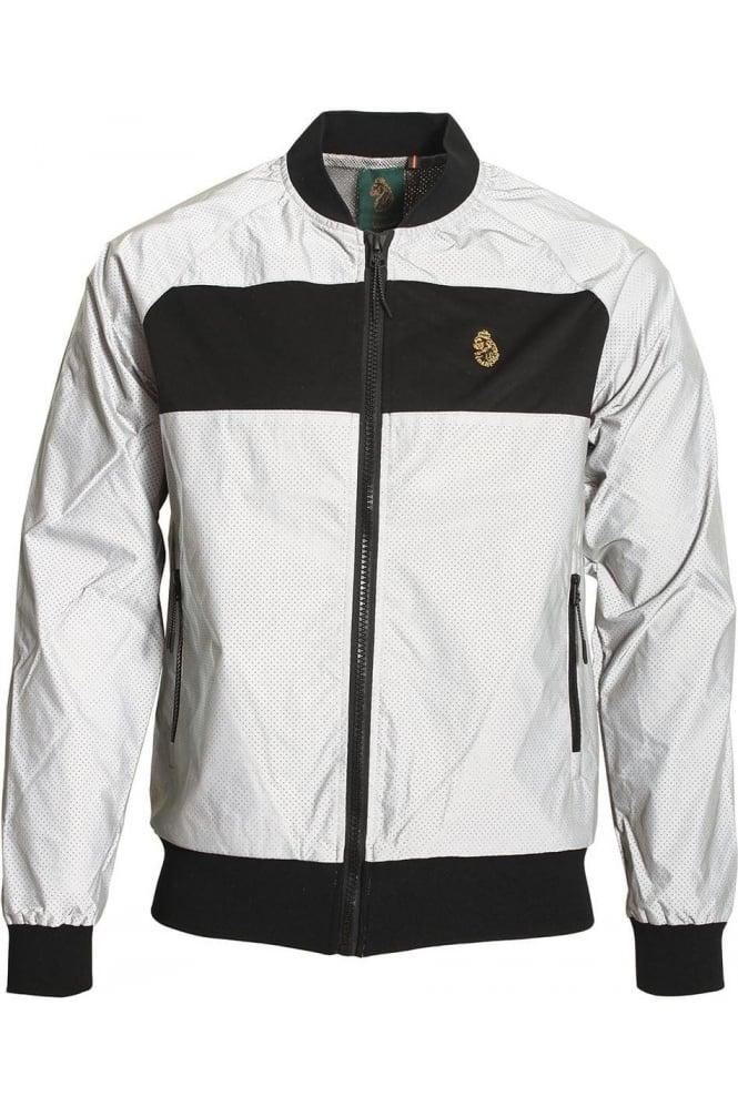 LUKE SPORT Rossy Tech Perf Reflective Silver Jacket