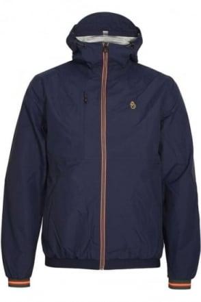 Sir Walter Sport Zip Through Tech Jacket | Lux Navy