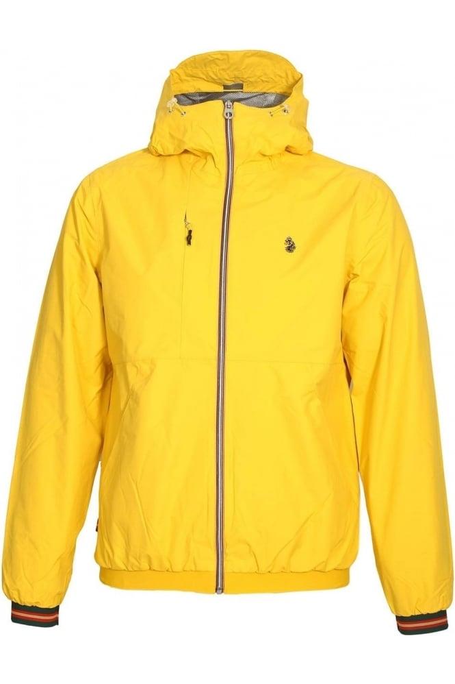 LUKE SPORT Sir Walter Sport Zip Thru Tech Jacket | Lux Yellow