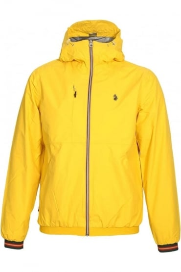 Sir Walter Sport Zip Thru Tech Jacket | Lux Yellow