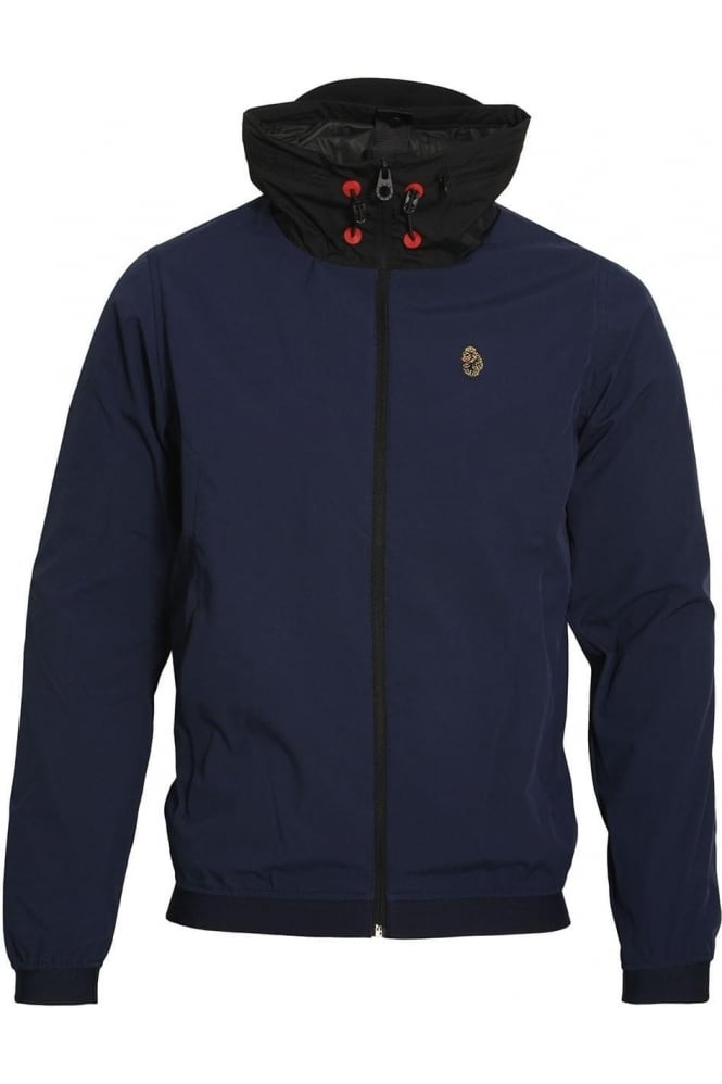 LUKE SPORT SSC Sport Windproof Hooded Jacket | Lux Navy