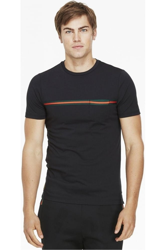LUKE SPORT Tapers Pocket T-Shirt Black