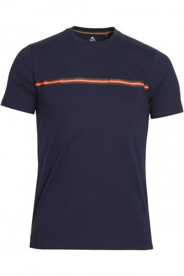 Tapers Pocket T-Shirt Marina Navy