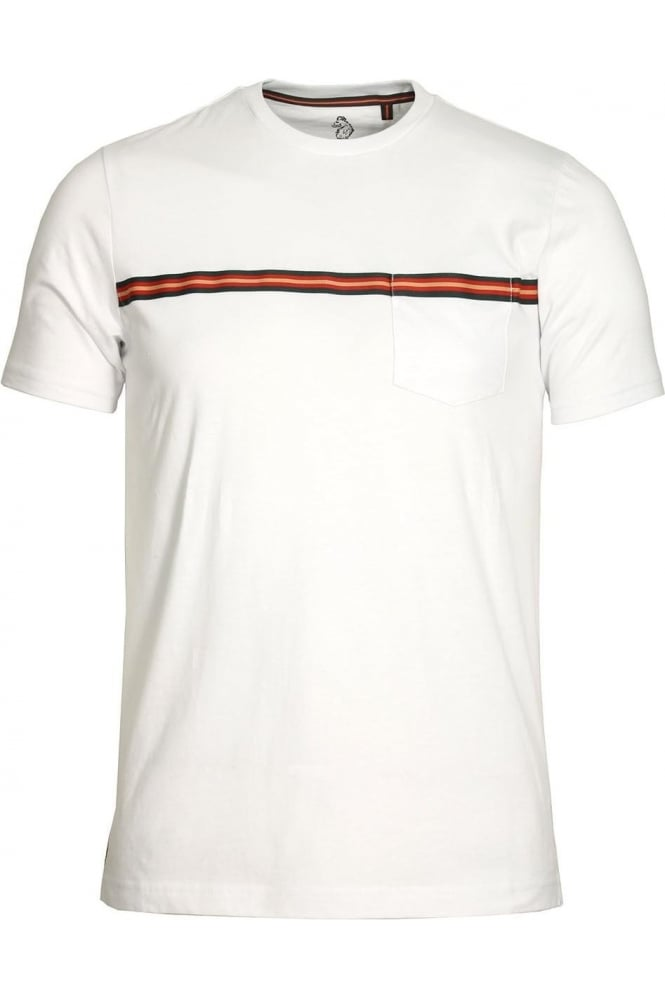 LUKE SPORT Tapers Pocket T-Shirt White