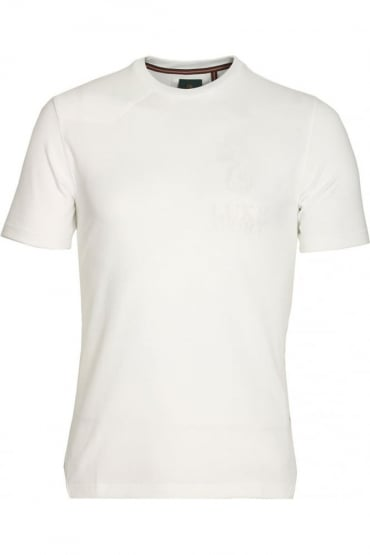 Walker White Cotton T-Shirt