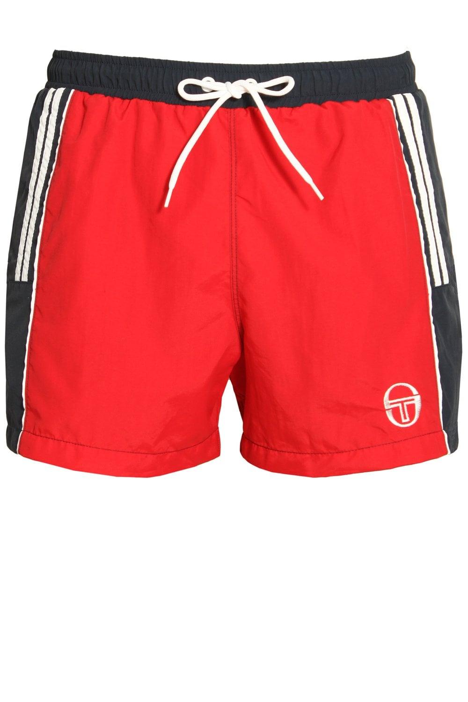 d766920d8bdd1 Sergio Tacchini Cyrus Swim Shorts Red | Shop Sergio Tacchini Swimwear