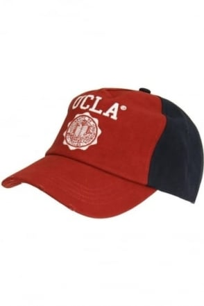 Watkins Baseball Cap   Teal, Black & Red