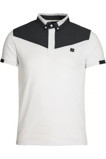 Baker Button Down Polo Shirt | White