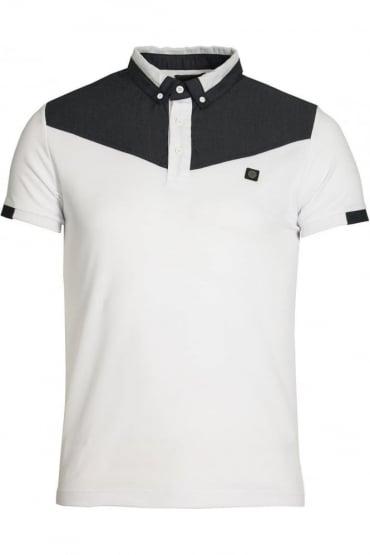 Baker Button Down Polo Shirt | White