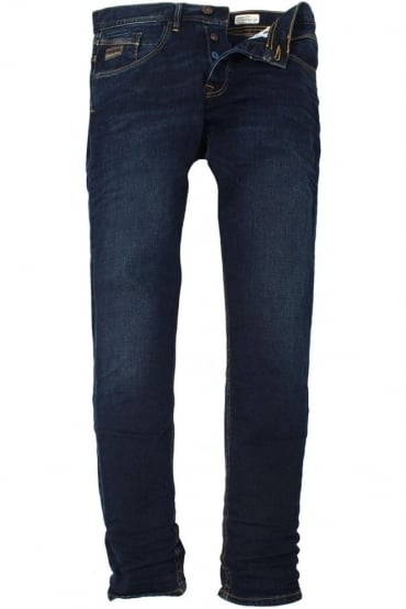 Harvey Stretch Dark Wash Tapered Denims