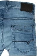 VOI JEANS Harvey Stretch Mid Blue Tapered Denims