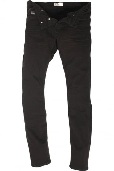 Lex Stretch Black Skinny Denims