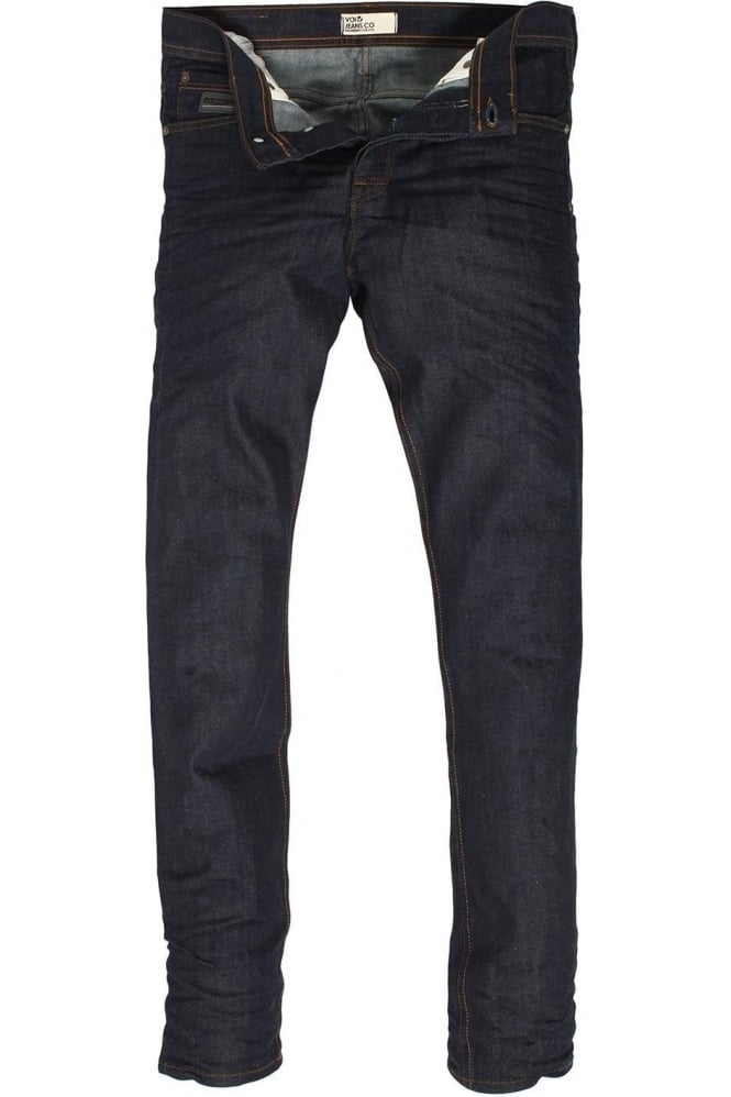 VOI JEANS Lex Stretch Raw Skinny Denims
