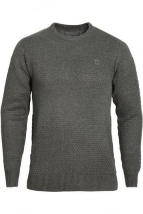 Mayweather Crew Neck Sweater Charcoal Marl