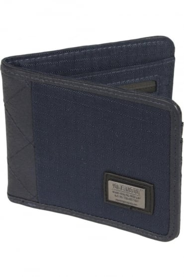 Pike Bi-Fold Wallet Dress Blue