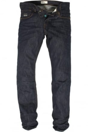 Ryley Stretch Dark Blue Regular Denims