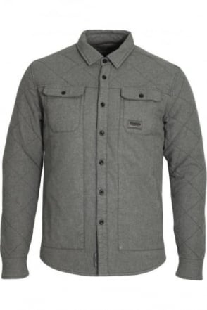 Valdez Over Shirt Grey Marl
