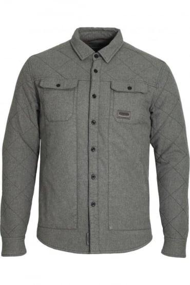 Valdez Over Shirt Grey Marl